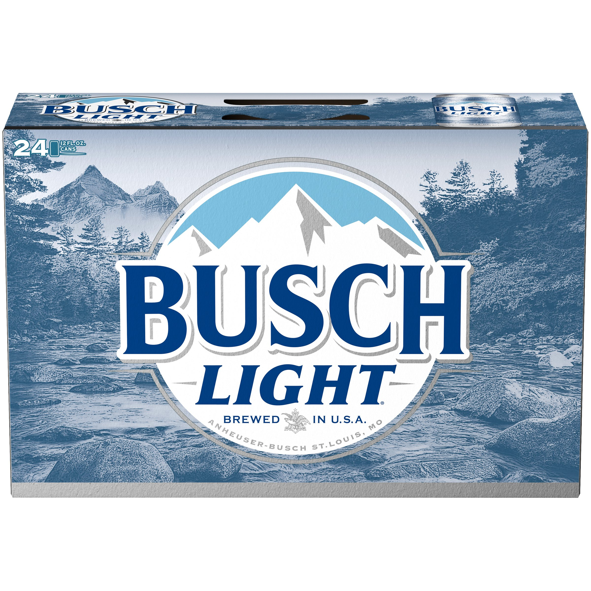 Busch Light Beer, 24 pk 12 fl. oz. Cans