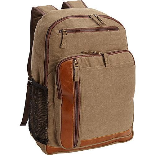 Bellino Tahoe Canvas Backpack