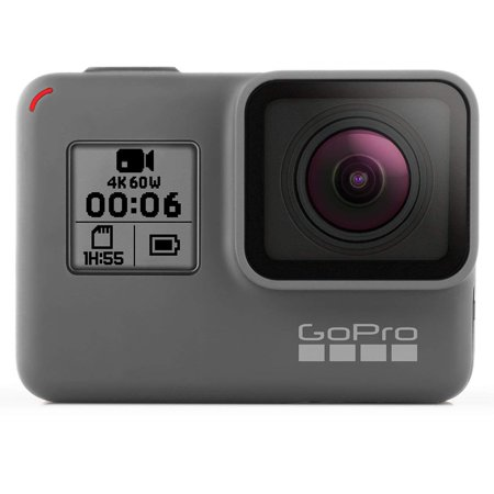 GoPro HERO6 Black - Action camera - mountable - 4K / 60 fps - Wi-Fi, Bluetooth - underwater up to (Best Pro Camcorder For Weddings)