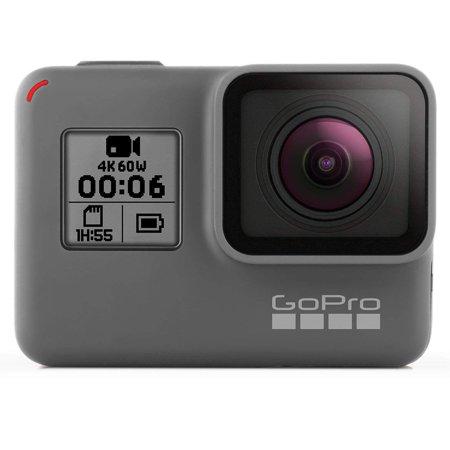 GoPro HERO6 Black - Action camera - mountable - 4K / 60 fps - Wi-Fi, Bluetooth - underwater up to