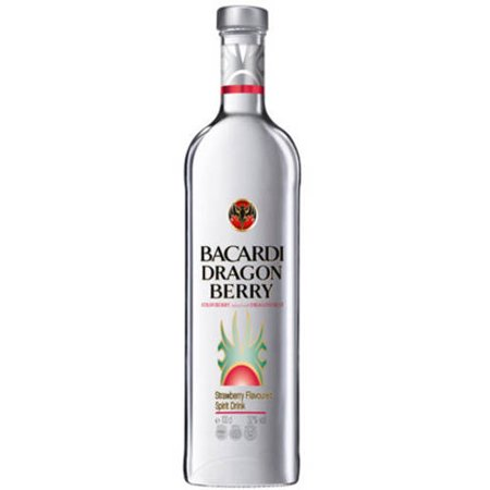 Bacardi Dragon Berry Rum, 750 mL