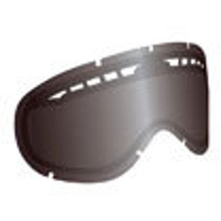 Ionized Goggles - Dragon Alliance Ionized All Weather Lens for MDX Goggles, Jet Jet Ion Dual Lens - No Post