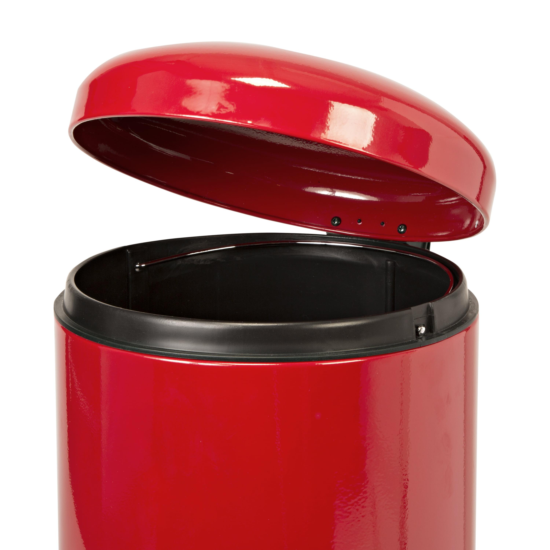 honey can do 30l retro kitchen trash can soft close multiple colors rh ebay com vintage metal kitchen trash cans