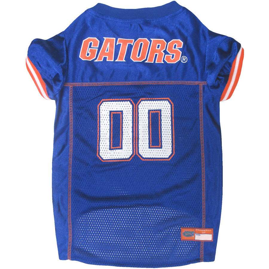 Pets First College Florida Gators Collegiate Dog Jersey, Available in Various Sizes