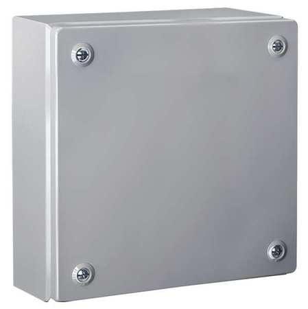 RITTAL 1511510 Screw Cover J-Box,16 in.Hx16 in.W x5in.D