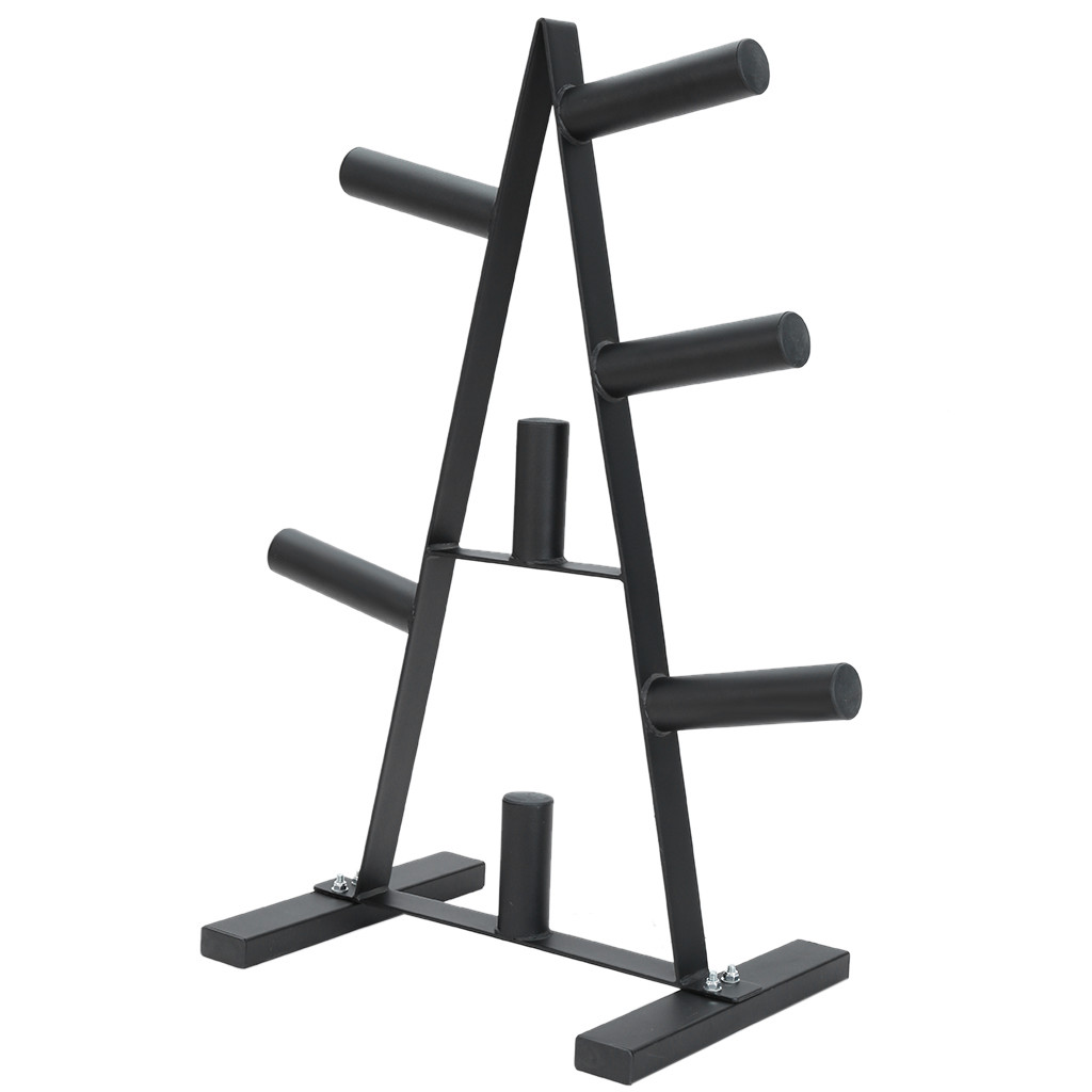 Weight Plate Rack Weight Plate Tree 2 inch For Bumper Plates Free Weight Stand
