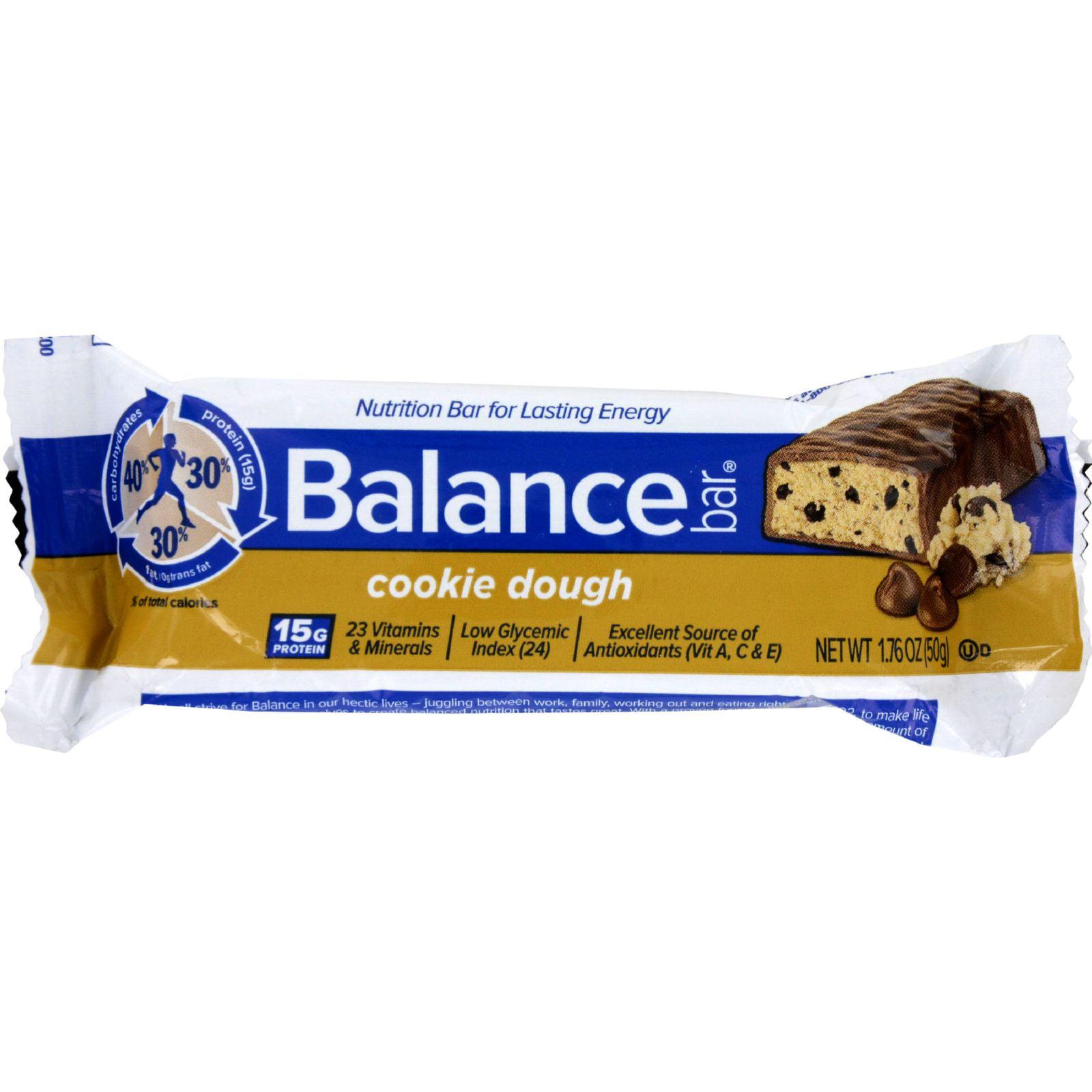 Balance Bar Cookie Dough 1.76 oz Case of 6 by