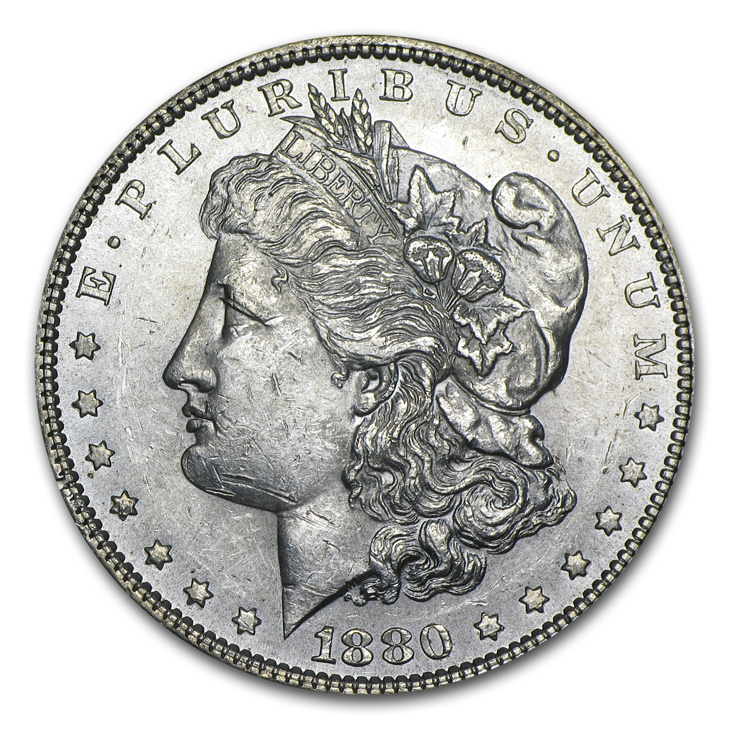 1880 Morgan Dollar BU