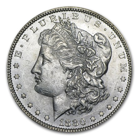 1880 Morgan Dollar BU (1880 O Morgan Silver Dollar Coins)