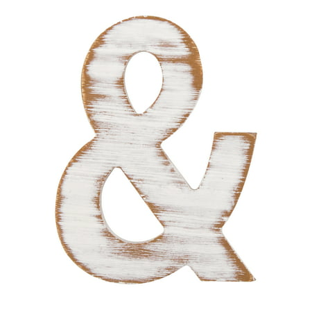 On The Surface Rustic Ampersand By Horizon Group Usa