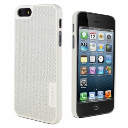 Carbon Fiber iPhone 5 White Case