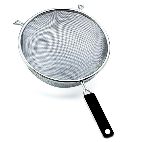 "Wideskall 5.5"" Stainless Steel Mesh Strainer Colander Basket with Handle Cookware, Pack of 3 by"