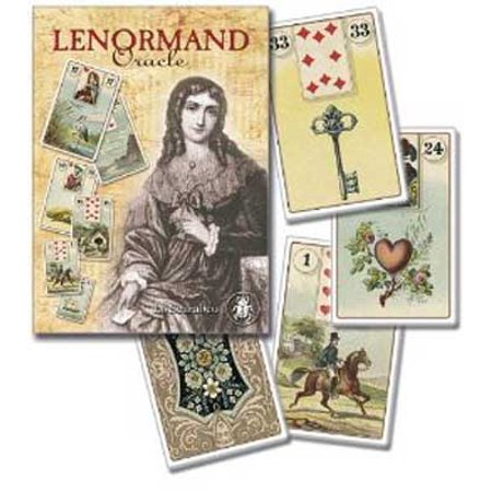 Party Games Accessories Halloween Séance Tarot Cards Lenormand Napoleon Bonaparte's Oracle Cards by Laura Tuan