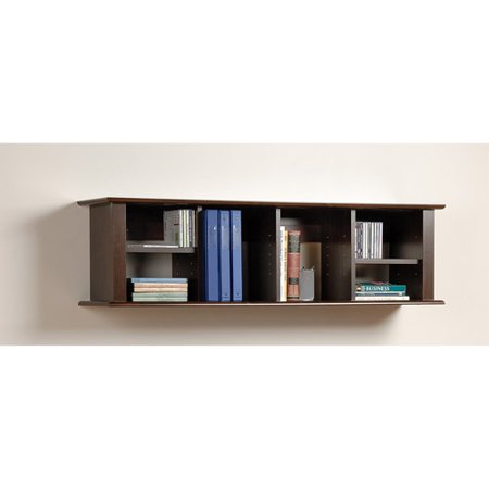 Prepac Wall Hanging Desk Hutch Multiple Finishes