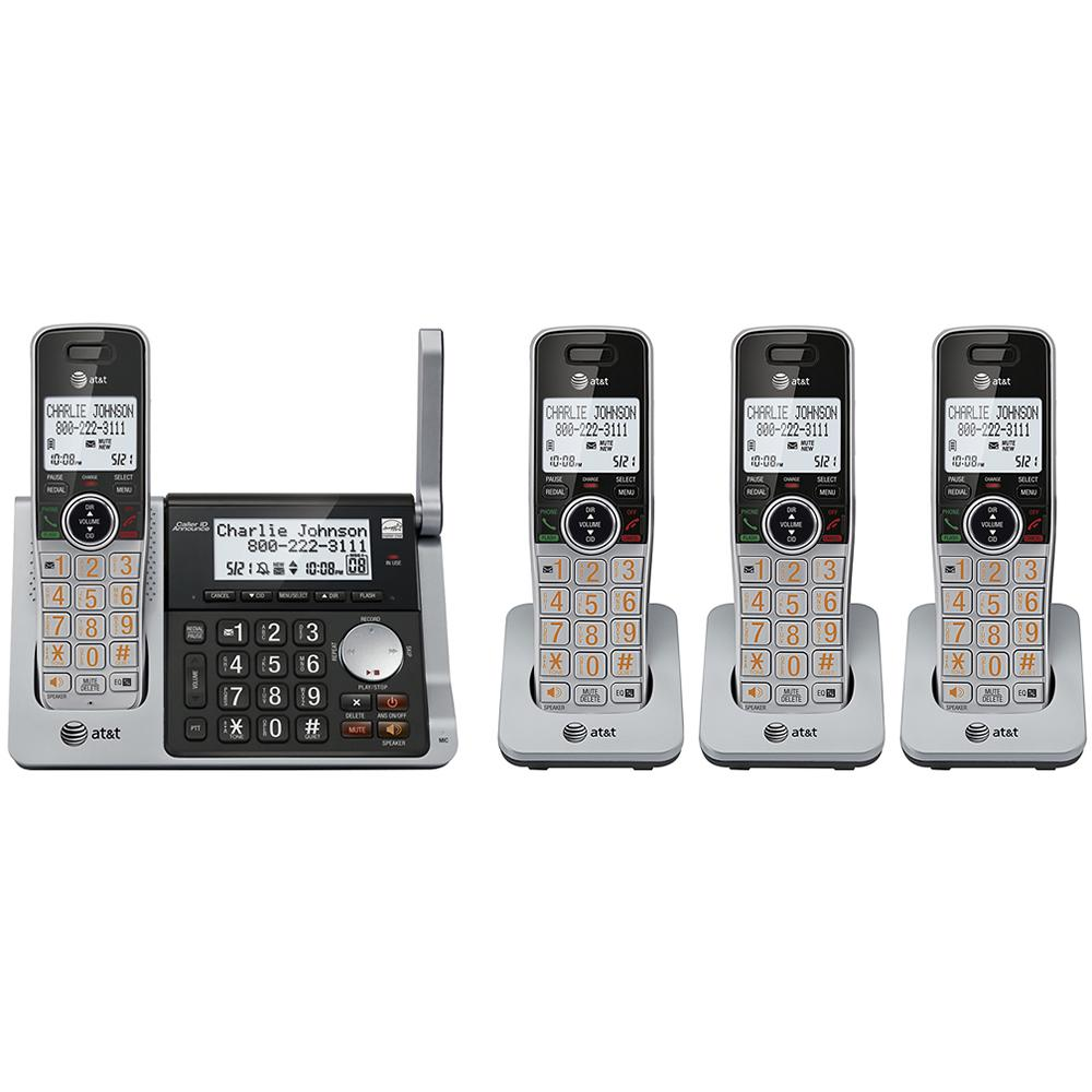 At&t CL83484 4-handset Answering Dual Caller Id