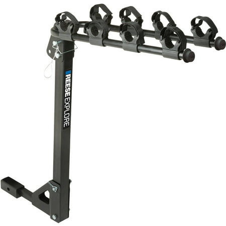 REESE Explore Bike Rack 4-Bike Tilt Hitch Mount, Model# 1393100G