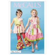 McCall's Pattern Children's and Girls' Top, Dress and Pants, CL (6, 7, 8)