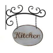 American Mercantile Metal Kitchen Hanging Wall Sign