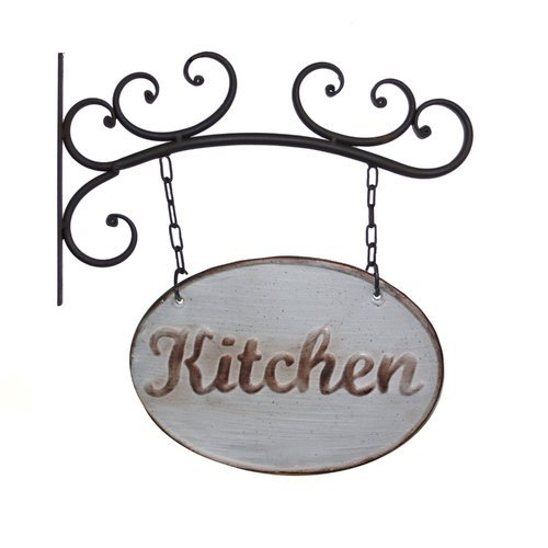 American Mercantile Metal Kitchen Sign Wall Decor