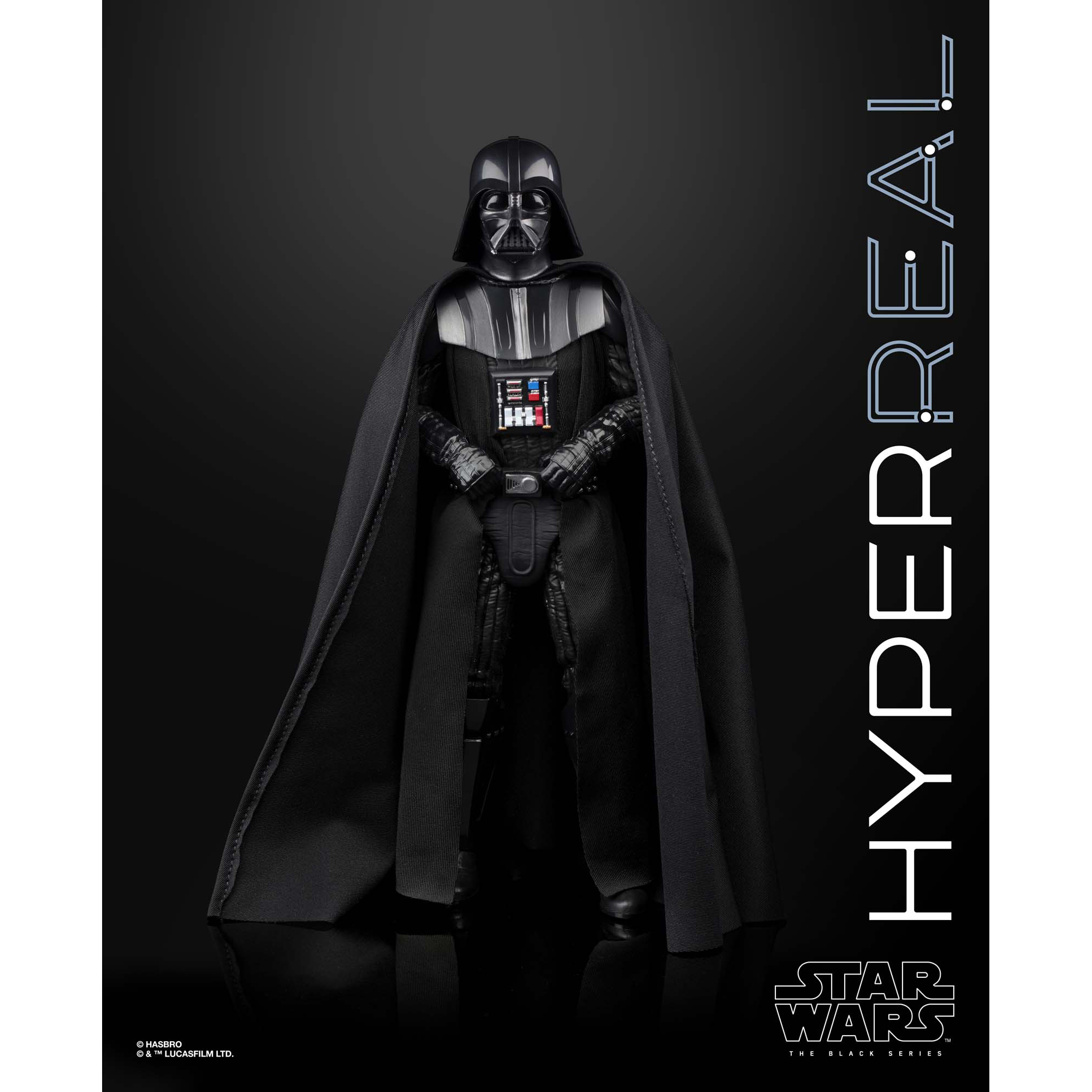 Star Wars The Empire Strikes Back Hyperreal 8 Inch Darth Vader Walmart Com Walmart Com