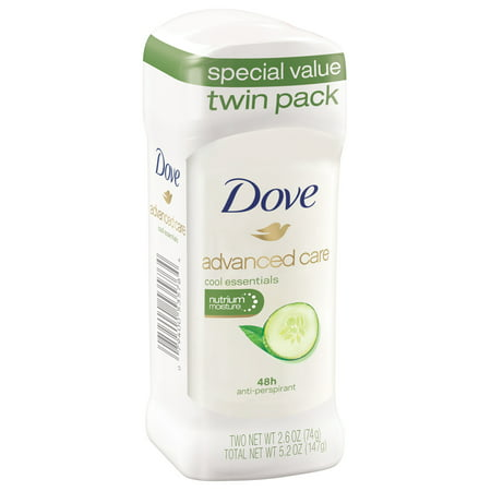 Dove Go Fresh Antiperspirant Cool Essentials for Women 48 Hour Deodorant Protection 2.6 oz 2