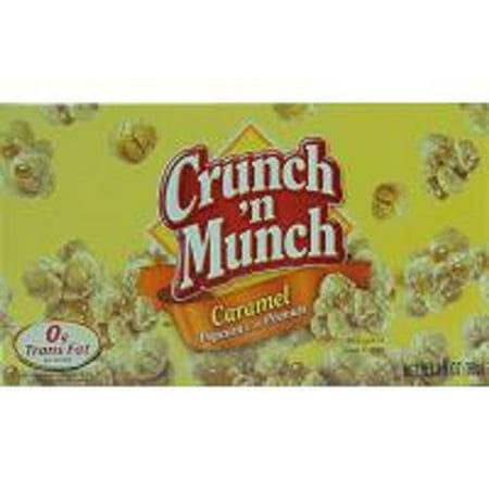 Product Of Crunch N Munch, Popcorn Peanuts Caramel, Count 1 - Popcorn / Grab Varieties & Flavors