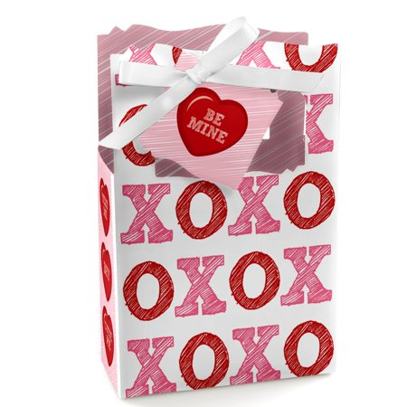 Valentine's Day Conversation Hearts - Party Favor Boxes - Set of 12 - Valentine Day Box Ideas