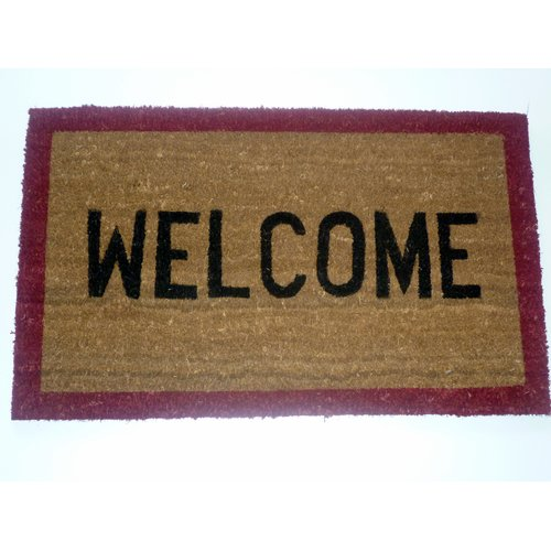 Geo Crafts, Inc Stenciled Welcome Doormat
