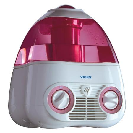 Vicks Starry Night Cool Mist Humidifier, V3700M, Pink