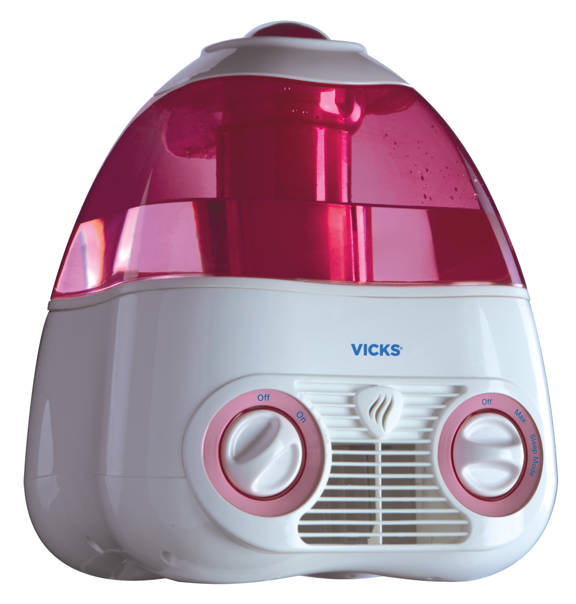 Vicks Starry Night Cool Moisture Humidifier V3700M, Pink
