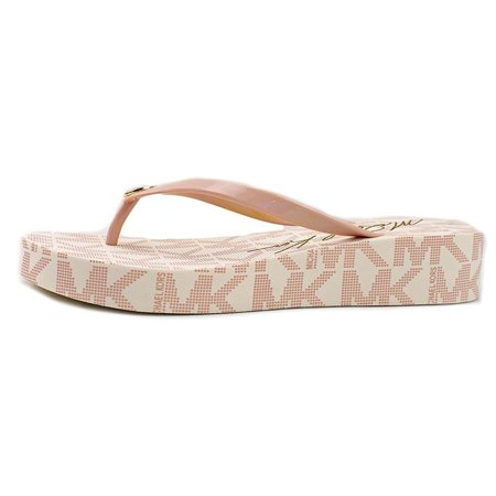 c6fbaecbfe3f MICHAEL Michael Kors - Michael Kors Bedford Women s Platform Flip Flop  Sandals - Walmart.com
