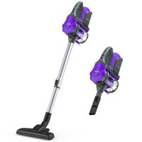 ZIGLINT Cordless Vacuum, 2-in-1 Lightweight Stick Vacuum Cleaner with Powerful Suction Rechargeble Lithium Battery for Pet Hair Car Carpet Hardwood Floor Sofa