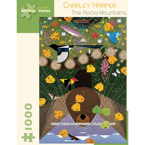 Charley Harper The Rocky Mountains Puzzle