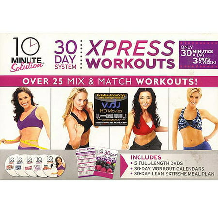 10 Minute Solution: 30 Day System Xpress Workout