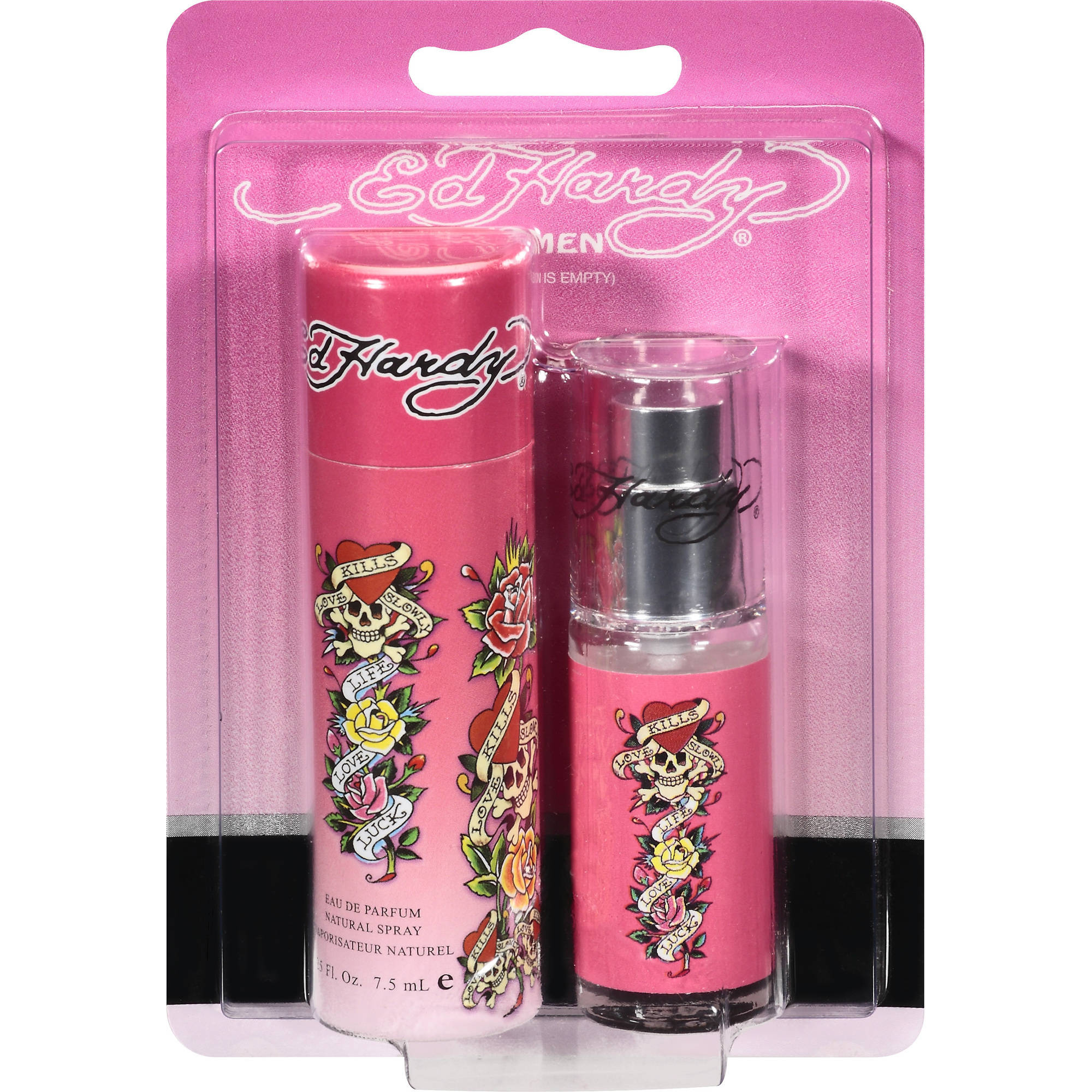 Ed Hardy Eau De Parfum Spray For Women, .25 oz