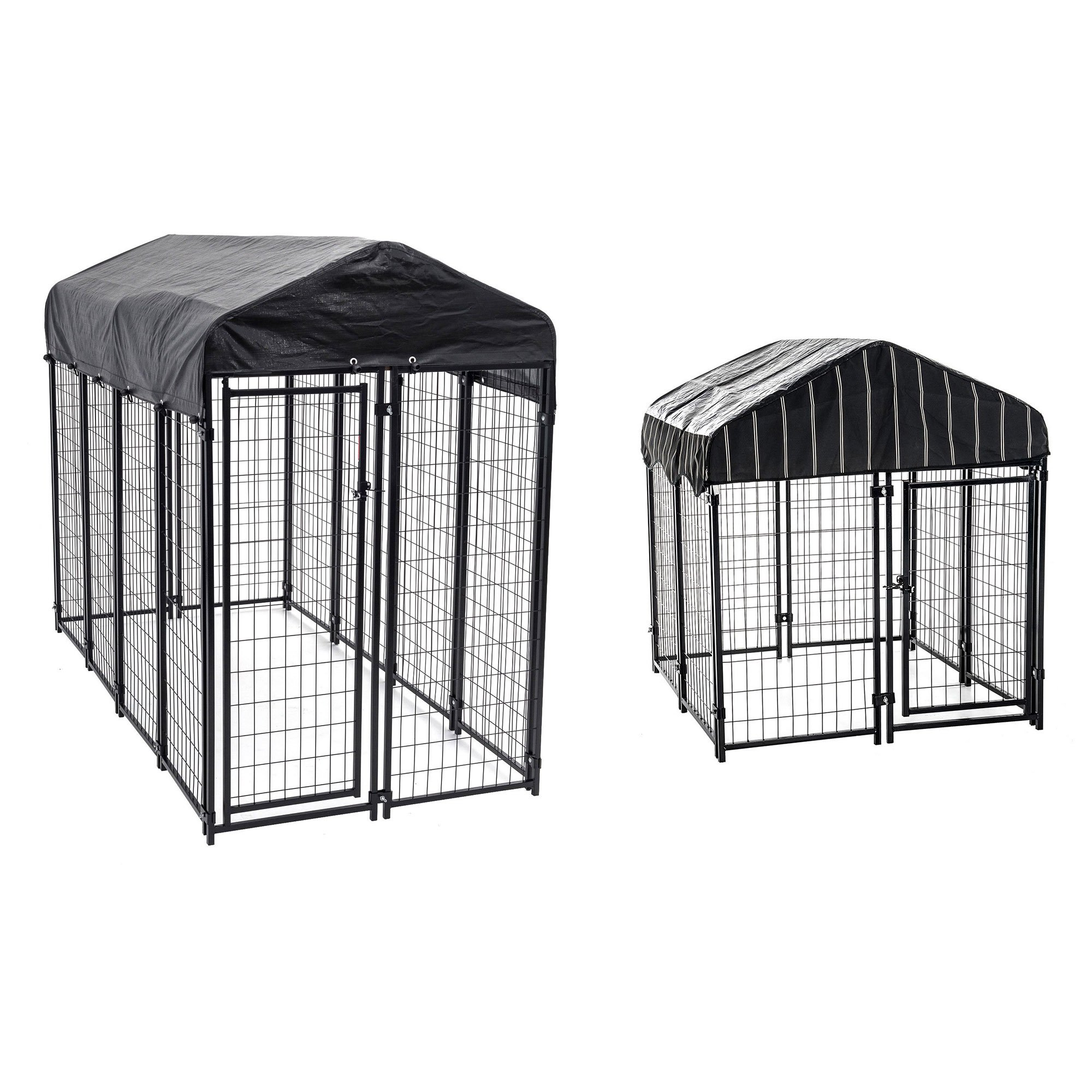 Lucky Dog Uptown Welded Wire Kennel Heavy Duty Dog Cage & Wire Kennel Play Pen