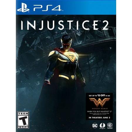Injustice 2 Walmart Exclusives (PS4)