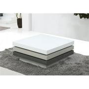JandM Furniture 18015 Modern Coffee Table - 360 Swivel