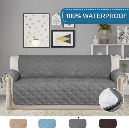 Cool 100 Waterproof Furniture Protector Soft And Finish Crafted Slipcovers Stay In Place Oversized Sofa Gray 86 Inch X 132 Inch Gmtry Best Dining Table And Chair Ideas Images Gmtryco