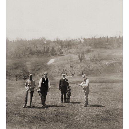 Andrew Carnegie And Party On The St Andrew Golf Links Westchester County New York 1911 History - Party City Westchester