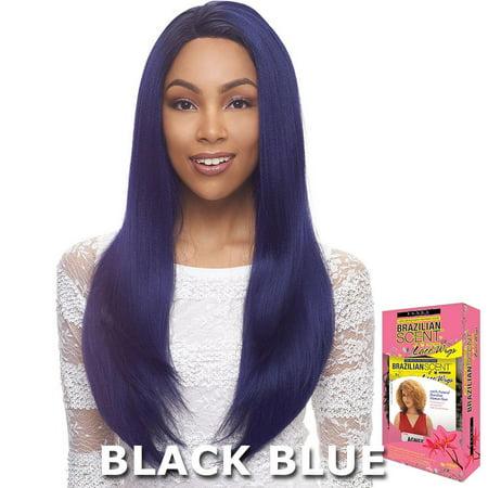Janet Brazilian Scent Human Hair Blend Lace Front Wig - ALEX