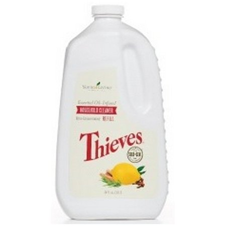 Young Living Thieves Household Cleaner Refill 64 fl oz (Health And Household)
