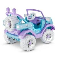 Disney's Frozen 4x4, 6-Volt Ride-On Toy by Kid Trax, Blue/Purple