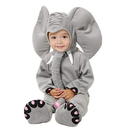 Elephant Rider Costume (Halloween Little Elephant Infant/Toddler Toddler)