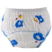 Horypt Washable Gauze Breathable Baby Diaper for Summer
