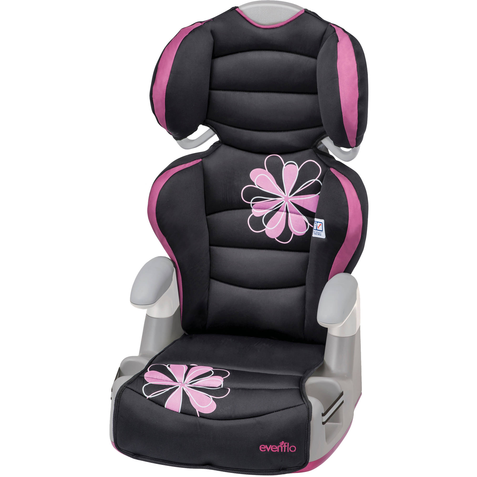 Evenflo Big Kid AMP High Back Booster Car Seat, Carrissa