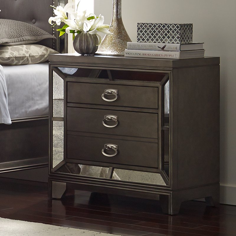 Avalon Furniture Lenox 3 Drawer Nightstand