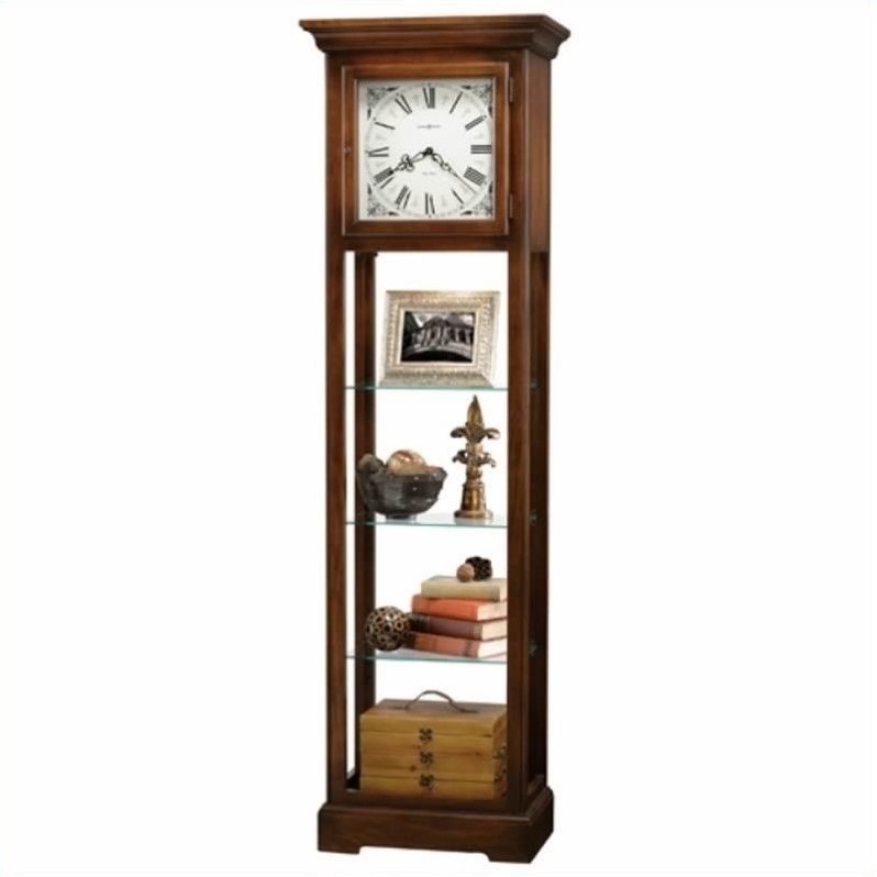 Howard Miller 611-148 Le Rose Curio Grandfather Clock by Howard Miller