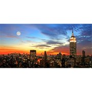 Home Decor Line City Sunset Wall Decals