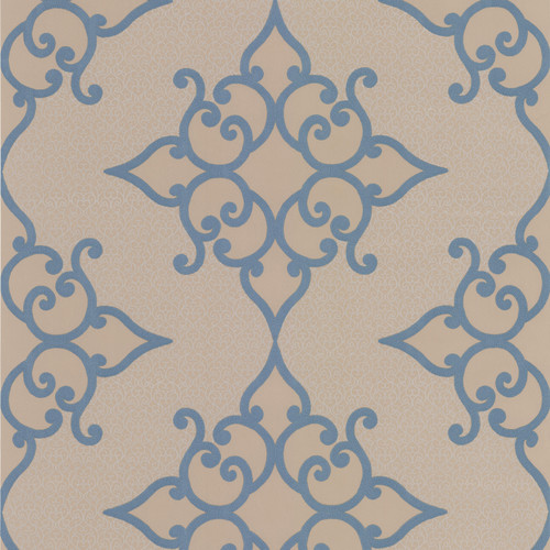 Brewster Home Fashions Decadence 33' x 20.5'' Damask 3D Embossed Wallpaper